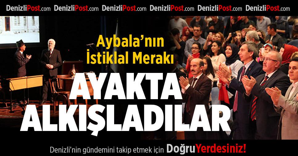 """""""Aybala'nın İstiklal Merakı"""" ayakta alkışlandı"""