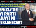 CHP Denizli'de İYİ Parti Adayını Mı Destekleyecek?