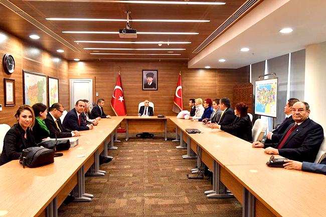 iyi parti denizli il yonetimi 1 - İYİ Parti Denizli İl Yönetimi'nden İlk Resmi Ziyaret