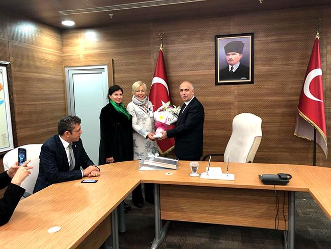 iyi parti denizli il yonetimi 2 - İYİ Parti Denizli İl Yönetimi'nden İlk Resmi Ziyaret