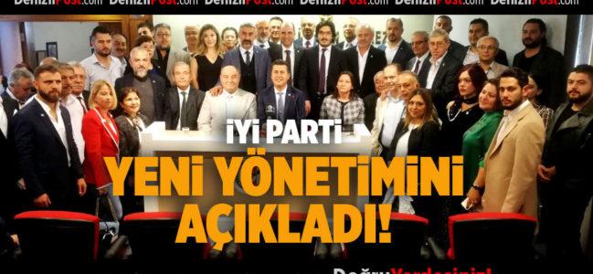 İYİ Parti Yeni Yönetimini Açıkladı