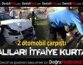 İzmir Asfaltında Kaza: 2 Yaralı