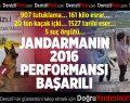 Jandarma 2016 yılı verilerini açıkladı