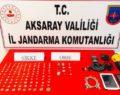 Aksaray'da Jandarma'dan tarihi eser avı