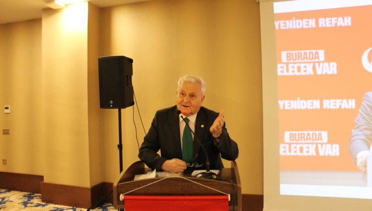 Kocaeli'de Yeniden Refah Partisi'nden 'Montrö' açıklaması