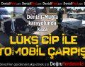 Lüks Cip İle Otomobil Çarpıştı:2 Yaralı