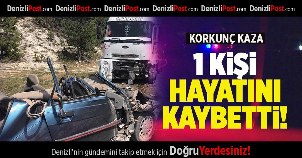 ÇAMELİ'DE FECİ TRAFİK KAZASI