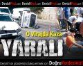 Akhan'da kaza: 3 yaralı