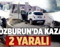 Bozburun'da Kaza 2 Yaralı