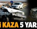 Serinhisar ve Karakurt'ta kaza: 4 yaralı