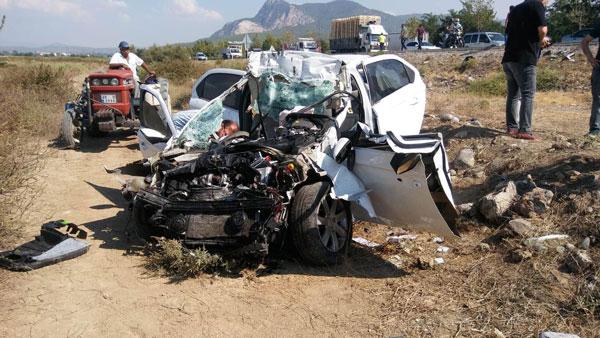 kazada yaralanan surucu 2 gun sonra oldu 6902 dhaphoto1 - Kazada yaralanan sürücü, 2 gün sonra öldü