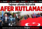 Büyükşehir'den 869 yıllık zafere coşkulu kutlama
