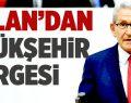 Arslan'dan Büyükşehir Önergesi