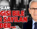 CHP'li Arslan: Yenilgisi Bile Zafer Sayılan Bir Lider…
