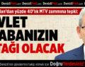 CHP'li Arslan'dan Vergi Artışına Tepki