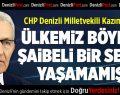 CHP'li Kazım Arslan:Ülkemiz Böylesi Şaibeli Bir Seçim Yaşamamıştır