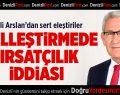 CHP'li vekilden 'özelleştirmede fırsatçılık' iddiası