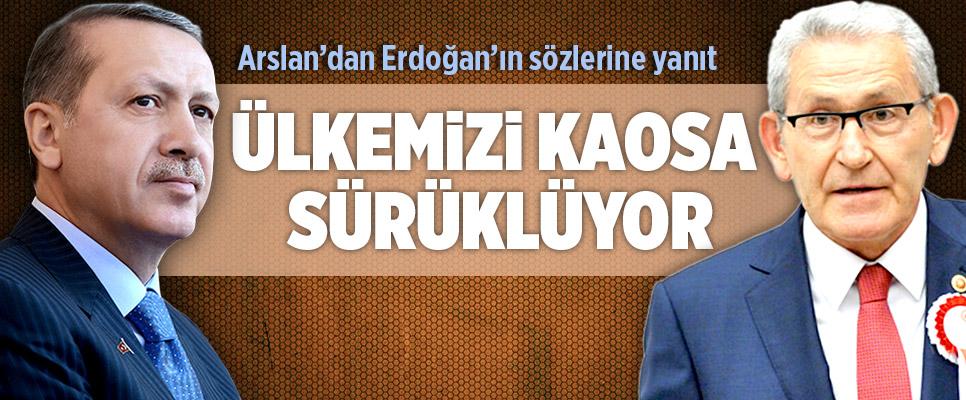 Arslan Erdoğan'ın 'Saygı Duymuyorum' Sözlerine Yanıt Verdi