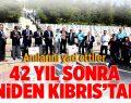 Pamukkaleli Gaziler Kıbrıs'ta Anılarını Yad Etti