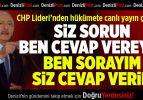 CHP Lideri Denizli'den Hükümete Canlı Yayın Çağrısı Yaptı