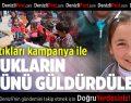 ADB Başlatıkları Kampanya İle Çocukların Yüzünü Güldürdü