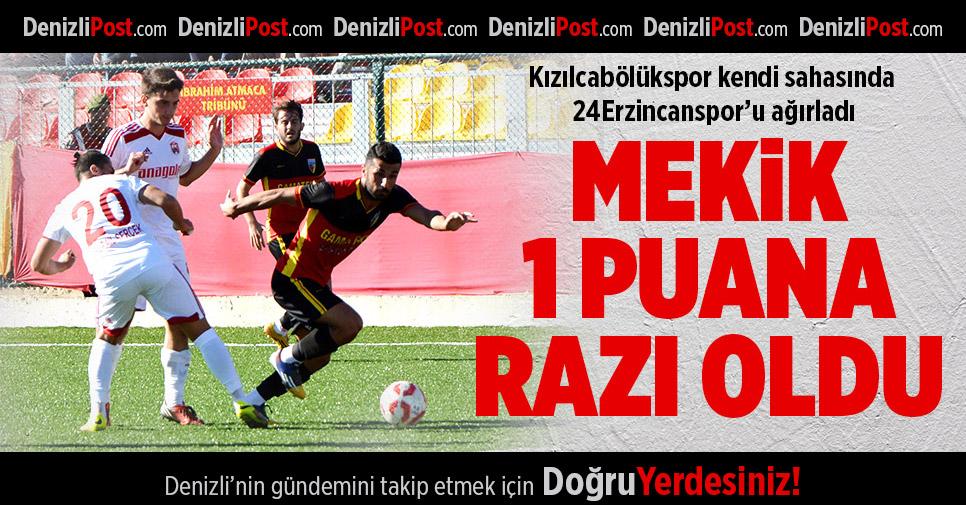 Kızılcabölükspor-24Erzincanspor: 0-0