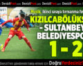 Kızılcabölükspor – Sultanbeyli Belediyespor: 1-2