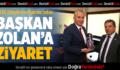 KKTC Ulaştırma Bakanı'ndan Başkan Zolan'a Ziyaret