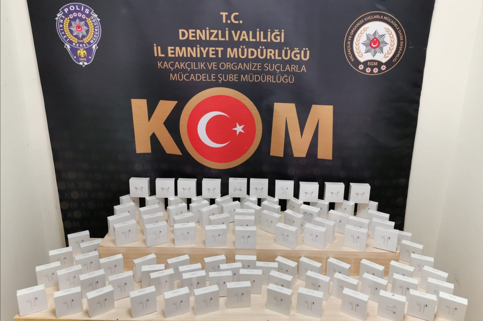 kom 3 - DENİZLİ'DE SAHTE 100 TL'LİK BANKNOTLAR YAKALANDI