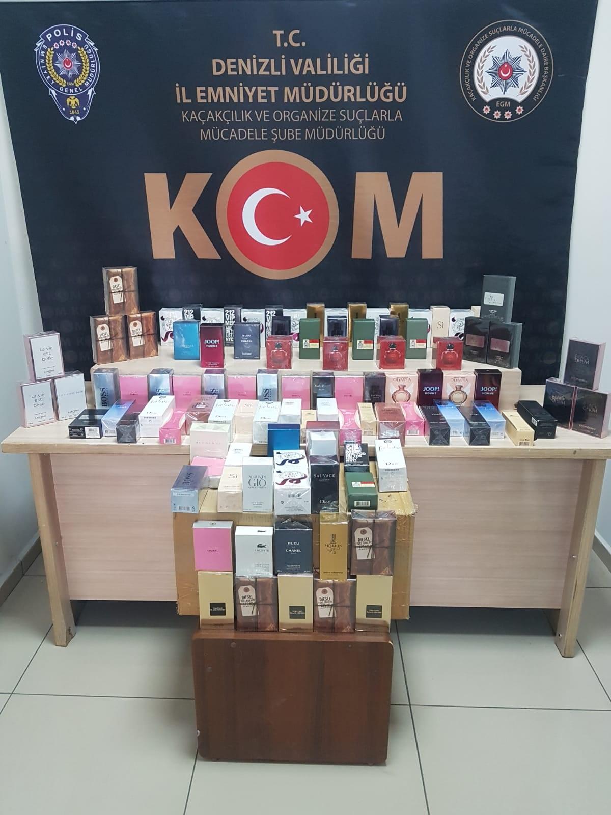 kom 4 - DENİZLİ'DE SAHTE 100 TL'LİK BANKNOTLAR YAKALANDI