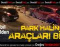 Kontrolden Çıkan Otomobil Park Halindeki Araçları Biçti