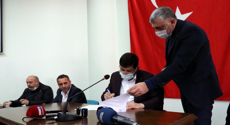 Nazilli Belediyesi, inşaat sektörü ile mesleki yeterlilik protokolü imzaladı