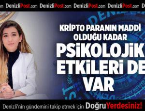 KRİPTO PARANIN MADDİ OLDUĞU KADAR, PSİKOLOJİK ETKİLERİ DE VAR