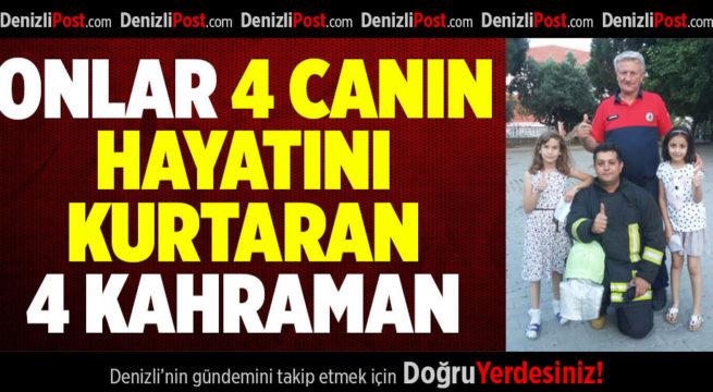 Onlar 4 Canın Hayatını Kurtaran 4 Kahraman