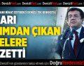 Bakan Zeybekci Denizli'de sert konuştu