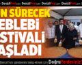 Serinhisar Leblebi Festivali Başladı
