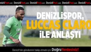 Denizlispor, Luccas Claro ile anlaştı