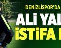 Denizlispor'da Yalçın istifa etti