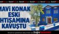 Mavi Konak'ın restorasyonu tamamlandı