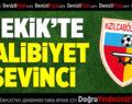 Mekik'te Galibiyet Sevinci: Kızılcabölükspor-Tekirdağspor: 1-0