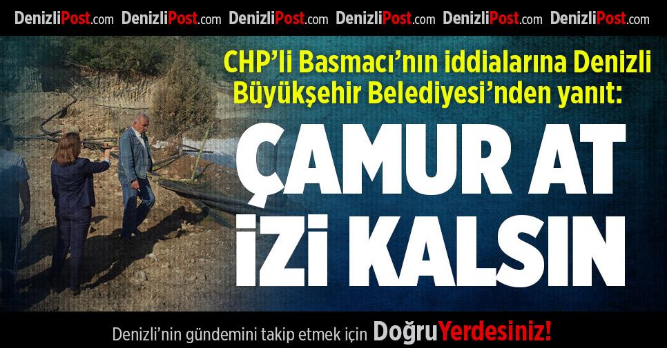 CHP'li Basmacı'nın İddialarına Büyükşehir'den Yanıt