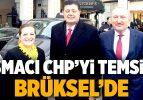 Basmacı, CHP'yi Temsilen Brüksel'de