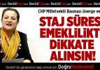 CHP Milletvekili Basmacı önerge verdi