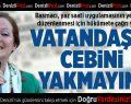 CHP'li Basmacı'dan Hükümete Çağrı