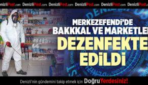 MERKEZEFENDİ'DE BAKKAL VE MARKETLER GÜVENDE