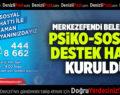 MERKEZEFENDİ BELEDİYESİ PSİKO-SOSYAL DESTEK HATTI KURULDU