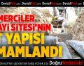 Mermerciler Sanayi Sitesi'nin alt yapısı Büyükşehir'den