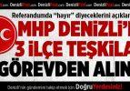 MHP Denizli'de 3 İlçe Teşkilatı Görevden Alındı