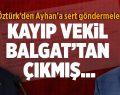 Öztürk'den Ayhan'a Sert Göndermeler