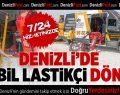 Denizli'de 7/24 Mobil Lastikçi Dönemi Başladı